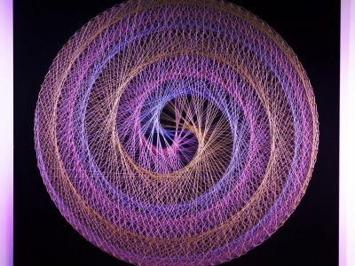 Ropenroll ile İp Sanatı (String Art) Atölyesi